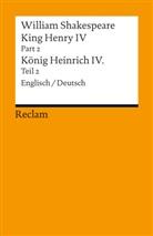 William Shakespeare, Holge Klein, Holger Klein - King Henry IV / Heinrich IV. Pt.2/Bd.2