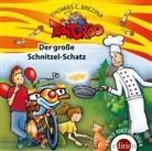 Thomas Brezina, Thomas C. Brezina - Tom Turbo - Der große Schnitzelschatz, 1 Audio-CD (Hörbuch)