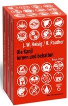 James Heisig, James W Heisig, James W. Heisig, Robert Rauther - Die Kanji lernen und behalten, 1 - 3 Bdn.