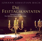 Johann Sebastian Bach - Die Festtagskantaten, 1 Audio-CD (Hörbuch)