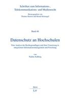 Nadine Kalberg - Datenschutz an Hochschulen