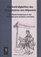 Anonym, Anonymus - Denkwürdigkeiten des Hauptmanns von Köpenick