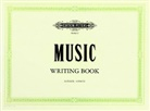 Edition Peters - Peters Music Writing Book