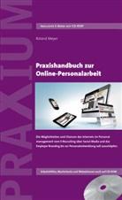 Roland Meyer - Praxishandbuch zur Online-Personalarbeit, m. CD-ROM