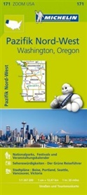 Michelin Karten - Bl.171: Michelin Karte Pazifik Nord-West