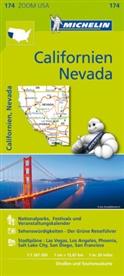 Michelin Karten - Bl.174: Michelin Karte Californien, Nevada