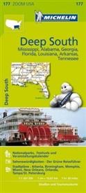 Michelin Karten - Bl.177: Michelin Karte Deep South