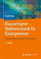 Frank Preser - Klausurtrainer Hydromechanik für Bauingenieure