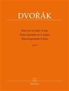 Antonin Dvorak, Antonín Dvorák, Antonín Cubr, Antonín ubr - Klavierquintett A-Dur op. 81 / Klavírní kvintet A dur op. 81, Partitur und Stimmen