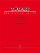 Wolfgang Amadeus Mozart, Christian (Arrangeur) Beyer - Konzertarien für hohen Sopran, Klavierauszug. Bd.1