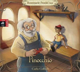 Carlo Collodi, Rosemarie Fendel - Pinocchio, 3 Audio-CDs (Hörbuch) - Gekürzte Lesung mit Musik