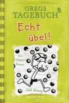 Jeff Kinney, Jeff Kinney - Gregs Tagebuch - Echt übel!