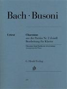 Johann Sebastian Bach, Ferruccio Busoni, Ferruccio B. Busoni, Norbert Müllemann - Busoni, Ferruccio - Chaconne aus der Partita Nr. 2 d-moll (Johann Sebastian Bach)