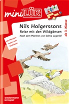 Selma Lagerlöf, Erika Reichert-Maja, Heinz Vogel - mini LÜK, Übungshefte: Nils Holgerssons Reise mit den Wildgänsen, Doppelband