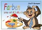 Steffi Bormann, Gabriele Merl, Verla DeBehr, Verlag DeBehr - Farben lernen mit Affe Max Grau