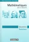 Peter Frommenwiler, Kurt Studer - Mathematik für Maturitätsschulen, Französischsprachige Schweiz, Géométrie, Solutions