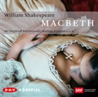 William Shakespeare, Kurt Beck, Marlene Riphan, Alfred Schlageter, u.v.a., Siegfried Wischnewski - Macbeth, 2 Audio-CDs (Hörbuch)