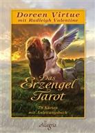 Virtue, Doreen Virtue - Das Erzengel Tarot, Karten mit Anleitungsbuch