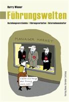 Harry Wiener, Ruedi Widmer, Ruedi Zeichnungen von Widmer - Führungswelten