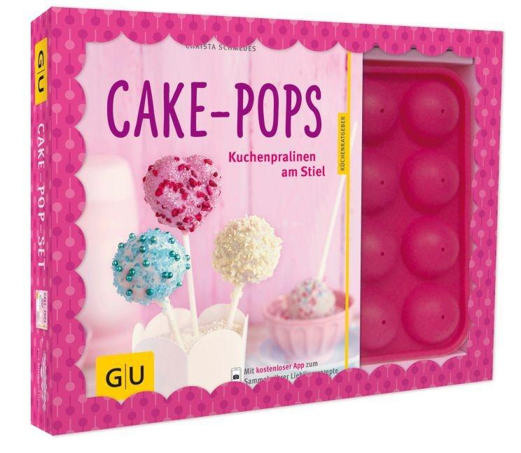 Christa Schmedes - Cake-Pop-Set, m. Backform u. 20 CakePop-Stielen - Kuchenpralinen am Stiel. Mit kostenloser App zum Sammeln der Lieblingsrezepte