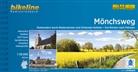 Esterbauer Verlag - Bikeline Radtourenbuch Mönchsweg