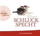 Peter Wawerzinek, Peter Wawerzinek - Schluckspecht, 2 Audio-CD (Hörbuch)
