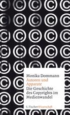 Monika Dommann - Autoren und Apparate