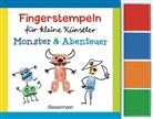 Norbert Pautner - Fingerstempeln für kleine Künstler - Monster und Abenteuer