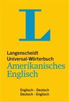 Langenscheidt-Redaktion - Universal Woerterbuch Amerikanisches English