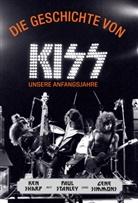 Ke Sharp, Ken Sharp, Gene Simmons, Pau Stanley, Paul Stanley, Paul Fleischmann - Die Geschichte von Kiss