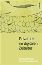 Schmal, Wolfgan Schmale, Wolfgang Schmale, Tinnefeld, Marie-There Tinnefeld, Marie-Theres Tinnefeld - Privatheit im digitalen Zeitalter