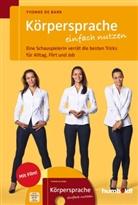Yvonne de Bark, Yvonne De Bark, Alex Spiering - Körpersprache einfach nutzen, m. DVD