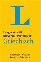 Redaktio Langenscheidt, Redaktion Langenscheidt, Redaktion von Langenscheidt - Universal-Woerterbuch Griechisch : Griechisch-Deutsch und vv