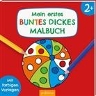 Corina Beurenmeister - Mein erstes buntes dickes Malbuch