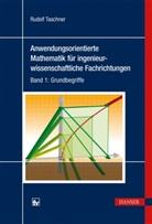 Rudolf Taschner - Anwendungsorientierte Mathematik für ingenieurwissenschaftliche Fachrichtungen - 1: Grundbegriffe