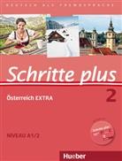 Daniela Niebisch, Sylvette Penning-Hiemstra, Franz Specht - Schritte plus - Deutsch als Fremdsprache + Österreich EXTRA - 2: Kursbuch + Arbeitsbuch + interaktive Übungen + Audio-CD
