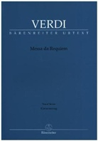Giuseppe Verdi, Andrea Campora, Andrea (Arrangeur) Campora, Marco Uvietta - Messa da Requiem, Klavierauszug