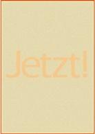 Eckhart Tolle - Jetzt!, Plakat (Grundfarbe Orangeton)