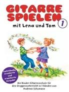 Andreas Schumann, Monika Broeske-Haas - Gitarre spielen mit Lena und Tom, revidierte Ausgabe. Bd.1