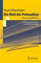 Wilfrid Keller, Paul Ribenboim, Paulo Ribenboim, Jörg Richstein - Die Welt der Primzahlen