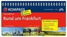 Hans P Vogt, Hans P. Vogt, Hans-Peter Vogt - KOMPASS Fahrradführer Rund um Frankfurt