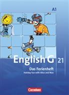 Jennifer Seidl, Jörg Rademacher, Hellmu Schwarz, Hellmut Schwarz - English G 21, Ausgabe A - 1: 5. Schuljahr, Das Ferienheft