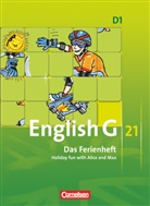 Jennifer Seidl, Hellmu Schwarz, Hellmut Schwarz - English G 21, Ausgabe D - 1: 5. Schuljahr, Das Ferienheft