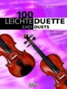Franz Kanefzky, Helmut Hage - 100 leichte Duette für 2 Violinen