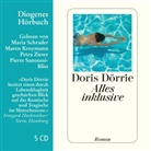 Doris Dörrie, Maria Schrader, Maren Kroymann, Pierre Sanoussi-Bliss, Maria Schrader, Petra Zieser - Alles inklusive (Hörbuch)