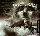 Rick Riordan, Marius Clarén - Percy Jackson, Die letzte Göttin, 4 Audio-CDs (Hörbuch)