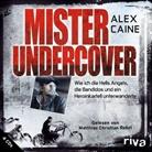 Alex Caine, Matthias C. Rehrl, Matthias Christian Rehrl - Mister Undercover, 4 Audio-CDs, Audio-CD (Hörbuch)