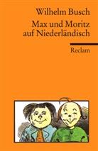 Wilhelm Busch - Max und Moritz auf Niederländisch