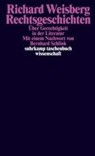Richard Weisberg - Rechtsgeschichten