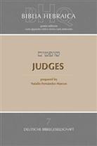 Natali Fernández Marcos, Natalio Fernández Marcos - Bibelausgaben: Biblia Hebraica Quinta (BHQ), Judges
